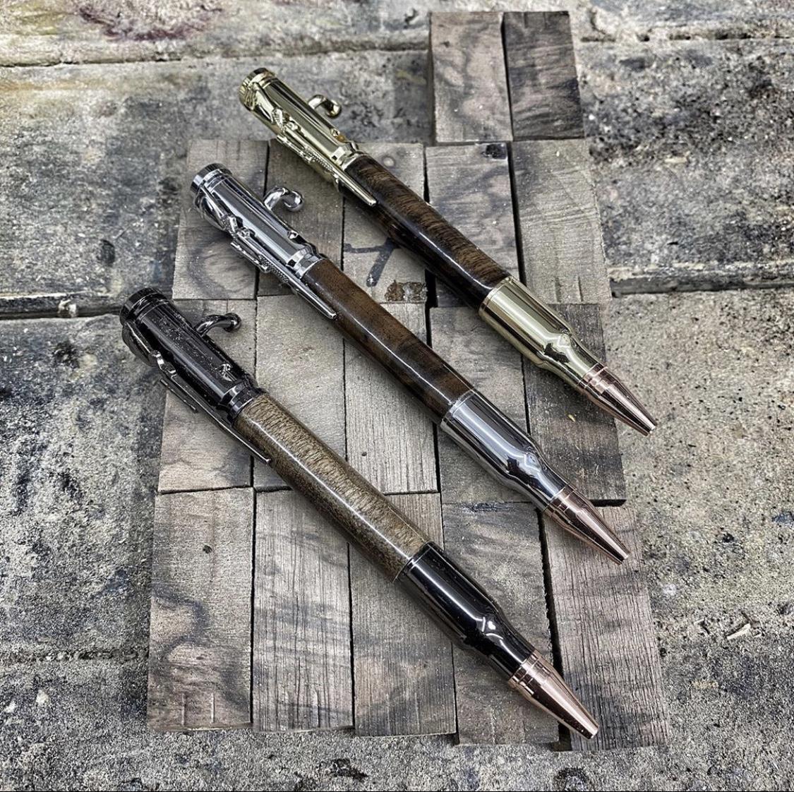 Handmade-ball-point-rifle-pen