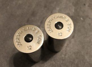 12g Joseph Lang & Son Chrome Snap Caps