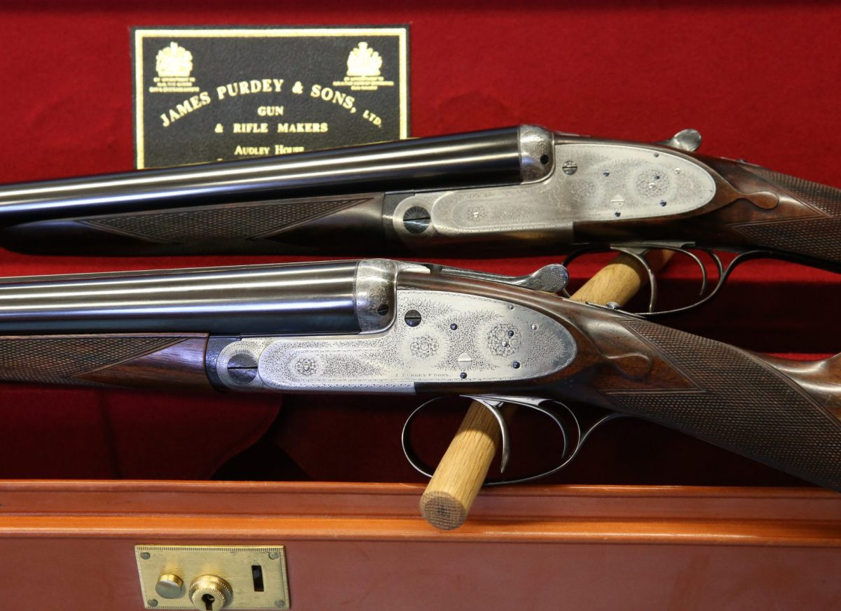A magnificent pair of classic James Purdey & Sons