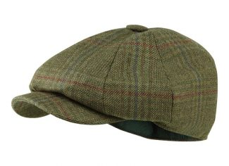Schoffel Newsboy Cap – Buckingham Tweed