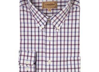 Schoffel Brancaster Shirt – Purple