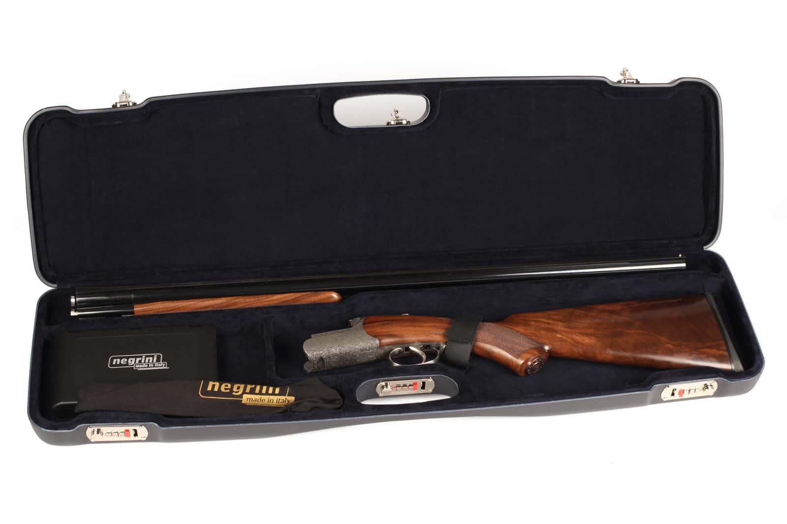 Negrini OU/SxS Shotgun Travel Case – 1602LR/5516