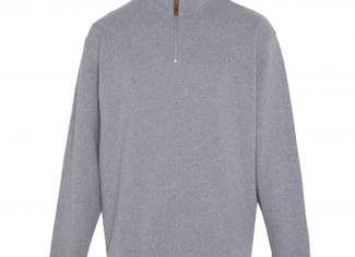 RM Williams Mulyungarie Fleece – Grey Marle
