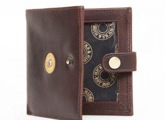 Hicks & Hides 12 bore Cartridge Licence Wallet