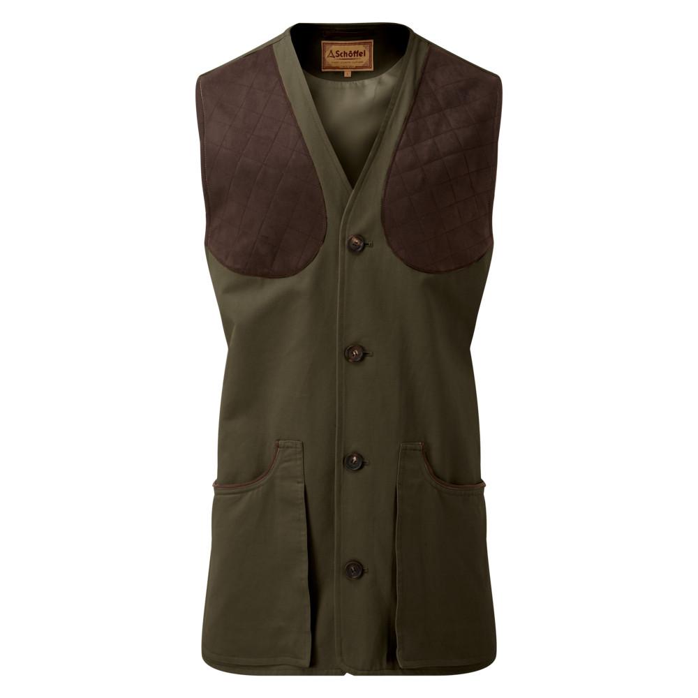 Schoffel-All-Seasons-Shooting-Vest-Dark-Olive