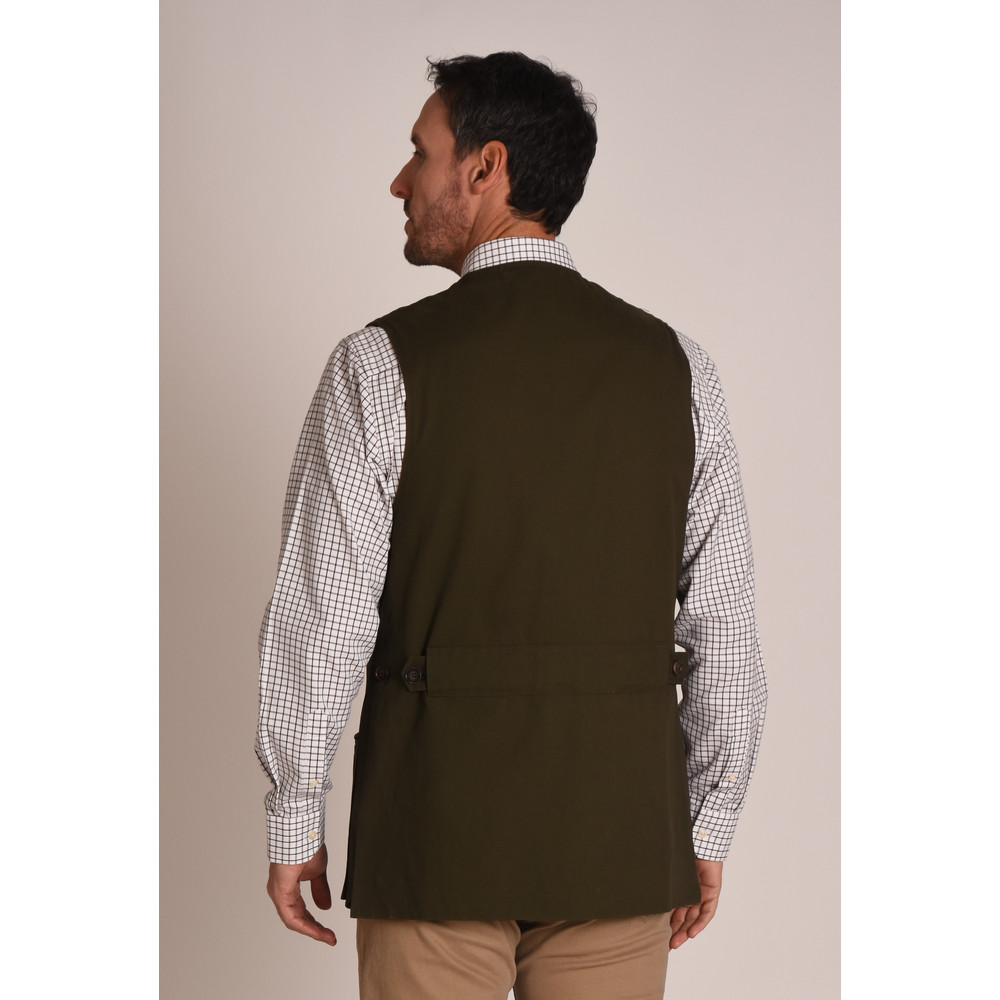 Schoffel All Seasons Shooting Vest – Dark Olive