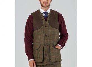 Schoffel Ptarmigan Tweed Waistcoat II – Buckingham Tweed
