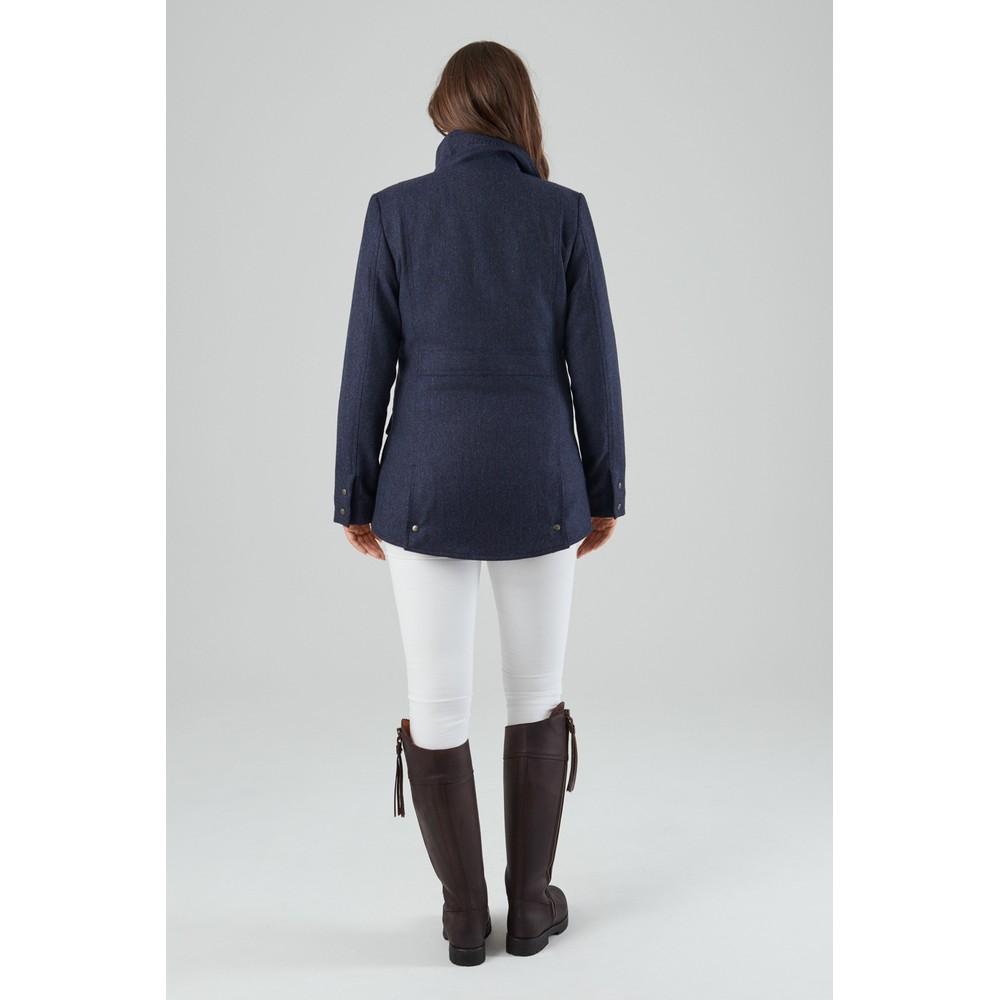Schoffel Lilymere Jacket Navy Herringbone Tweed