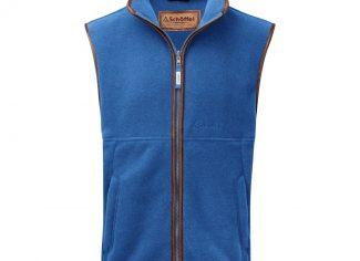 Schoffel Oakham Fleece Gilet – Cobalt Blue