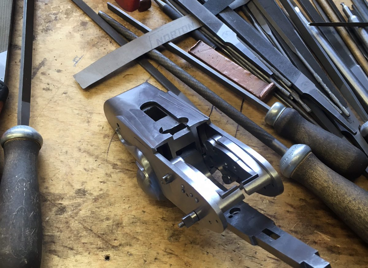 Building a New Carl Russell & Co 470 Rifle