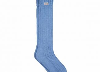 Dubarry Alpaca Sock Sky – Blue
