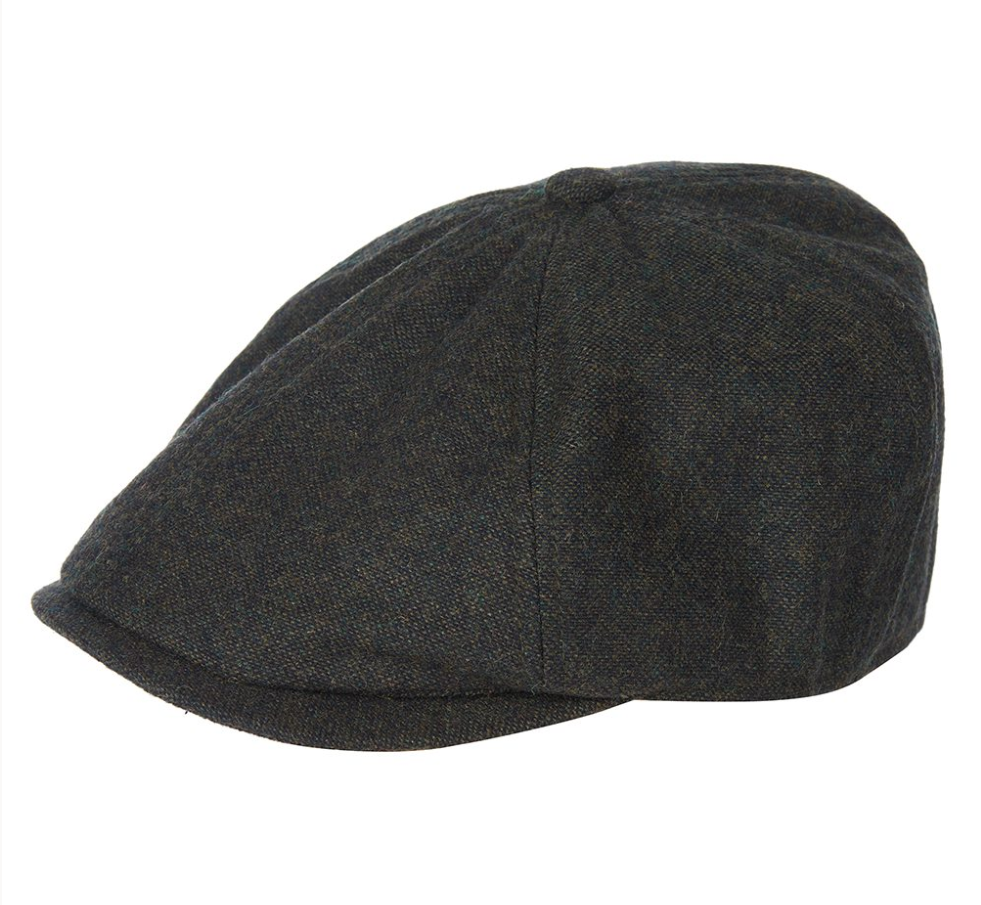 Barbour Howden Bakerboy Cap – Olive