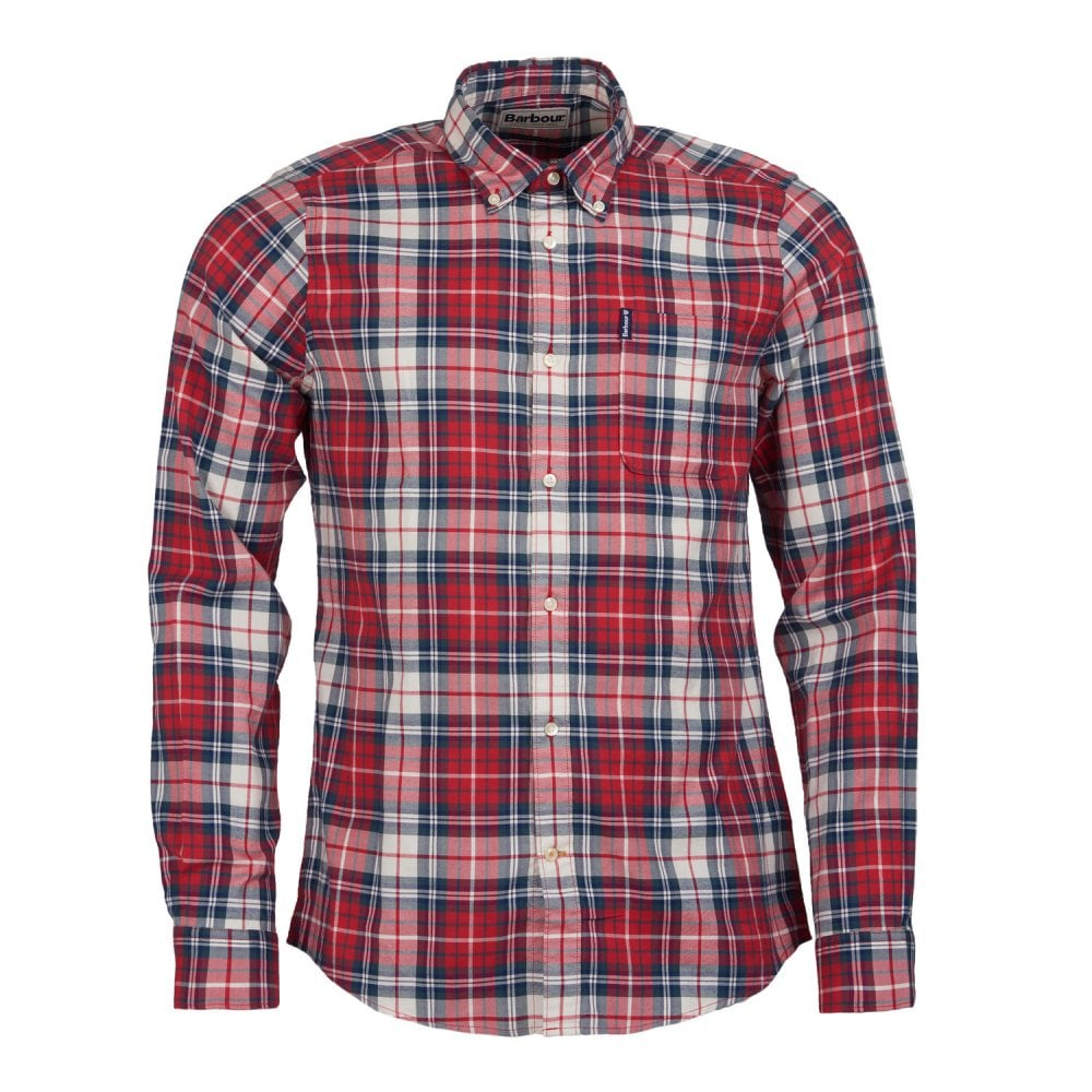 barbour-highland-check-shirt-red1