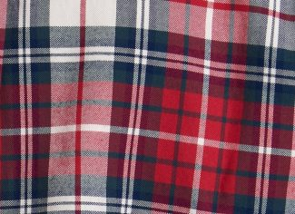 Barbour Highland Tailored Fit Check Shirt – Red