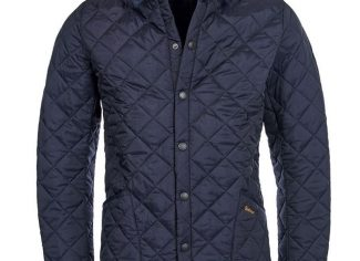 Barbour Heritage Liddesdale Quilted Jacket – Navy