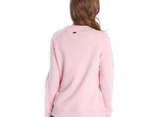 Barbour Otterburn O/Layer Sweatshirt – Carnation