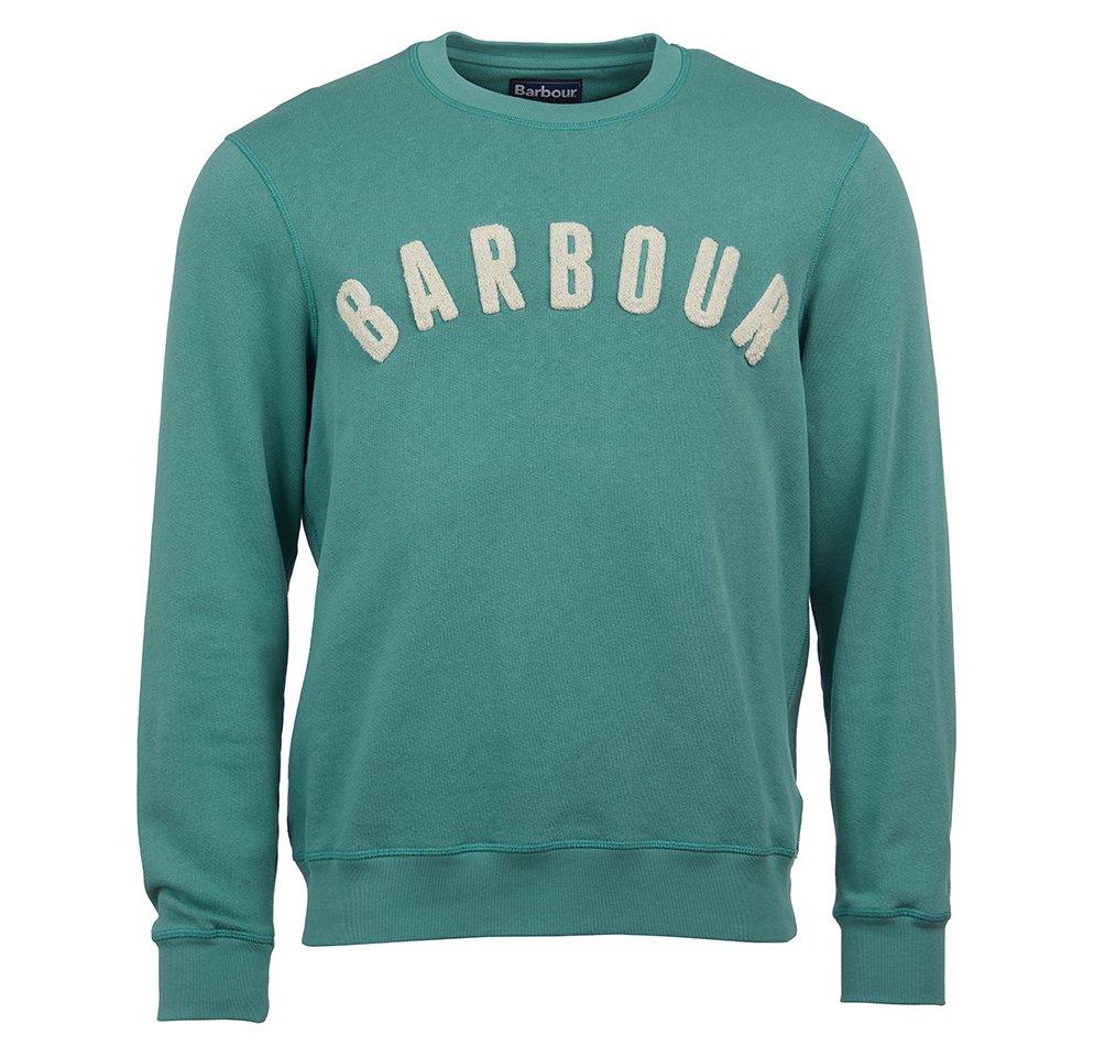 barbour-prep-logo-crew-nevada-green
