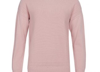 Barbour Sailboat Knit Jumper – Pale Coral