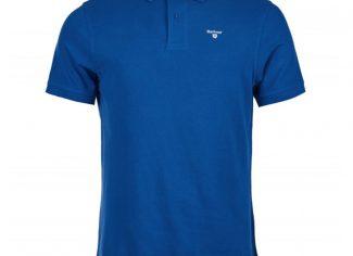 Barbour Sports Polo – Atlantic Blue
