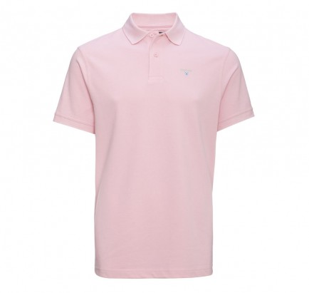 barbour-sports-polo-pink