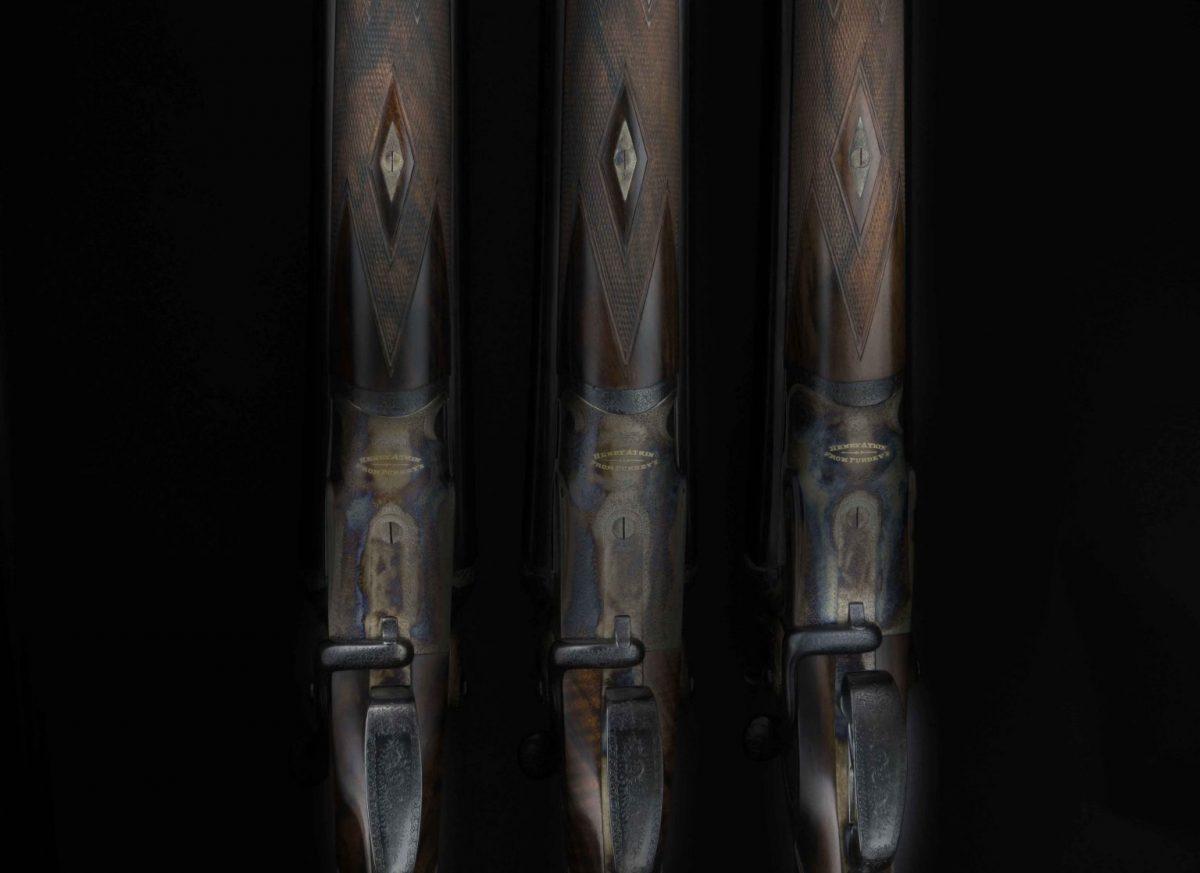 Trio of Henry Atkin Shotguns