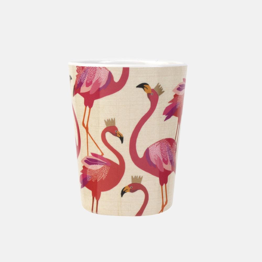 flamingo-melamine-cup-isolated