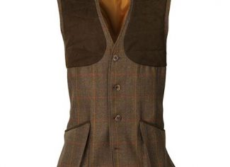 Laksen Grouse Collection Shooting Vest – Scottish Tweed