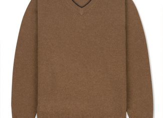 Musto Shooting V Neck – Toffee