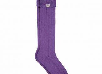 Dubarry Alpaca Sock – Purple