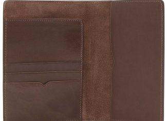 RM Williams City Passport Cover – Chestnut
