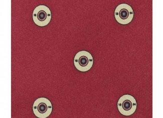 Schoffel Waltham Silk Tie – Red Cartridges