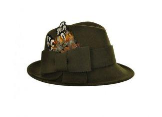 Really Wild Trilby Felt Hat – Loden