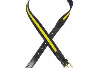 Brady Web Belt – Blue/Yellow