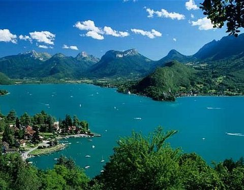 Lake Annecy and Maurienne Passes