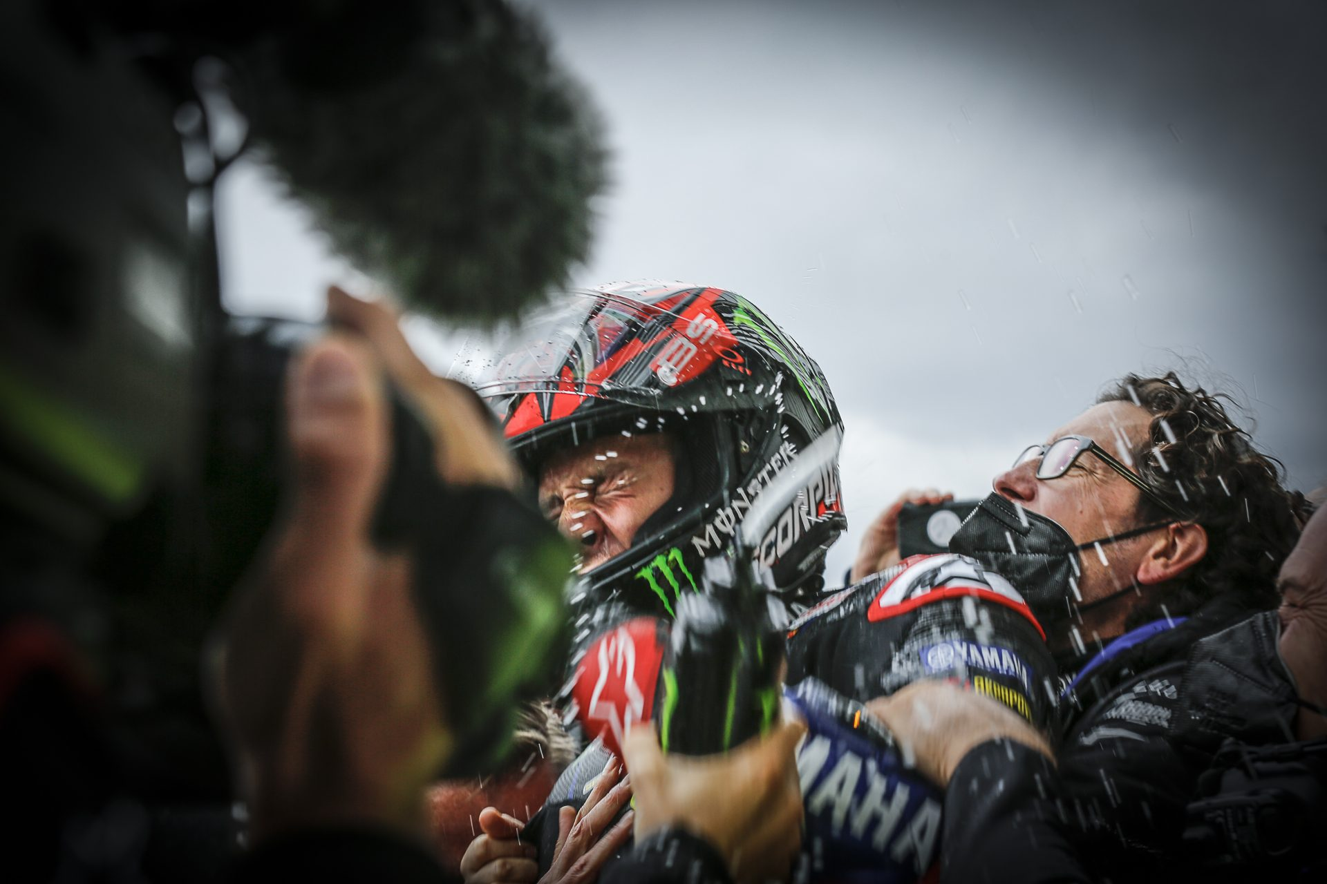 Quartararo wins, Rins second as Aleix Espargaro makes history at Silverstone