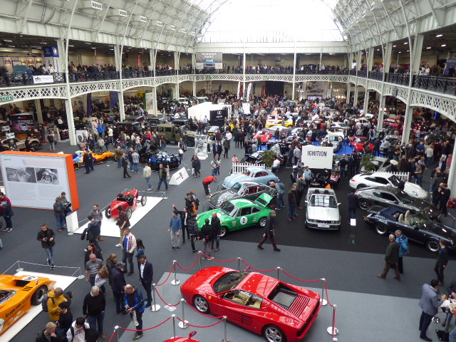 A great London Classic Car Show at Olympia