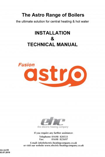 Fusion Astro Manual