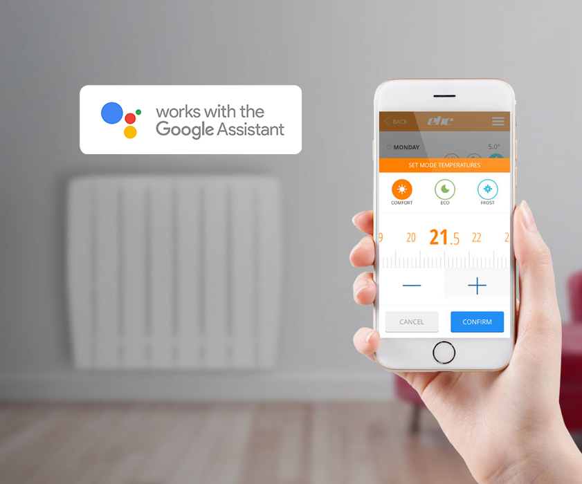 DSR Electric Radiators are now Google Home Compatible!