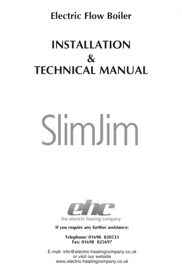 Slim Jim Installation Manual