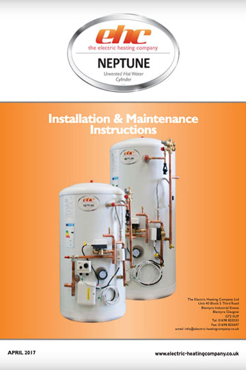 Neptune Pre-Plumed Cylinder Installation Manual
