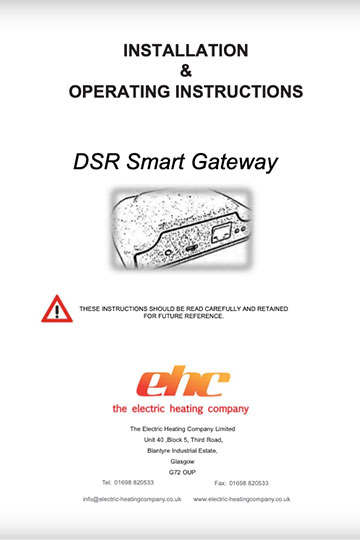 DSR Gateway Manual