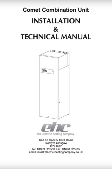 Comet Combi Installation Manual