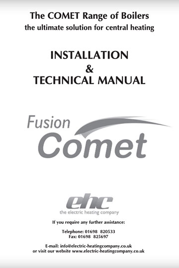 Comet Installation Manual