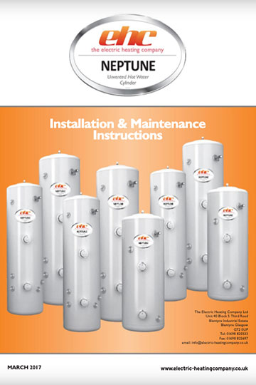 Neptune Cylinder Installation Manual