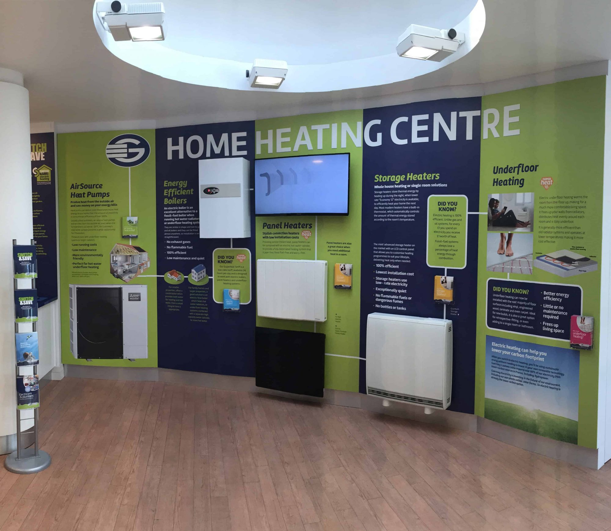 Home Heating Centre @ Guernsey Electricity