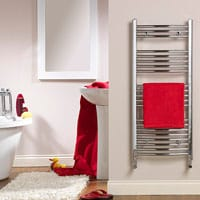 Venus Electric Chrome Towel Rail
