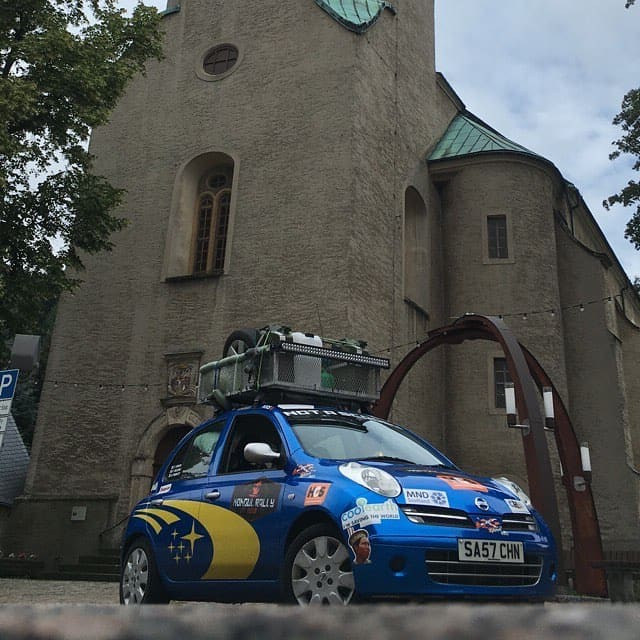 Not A Scooby On The Mongol Rally 2018