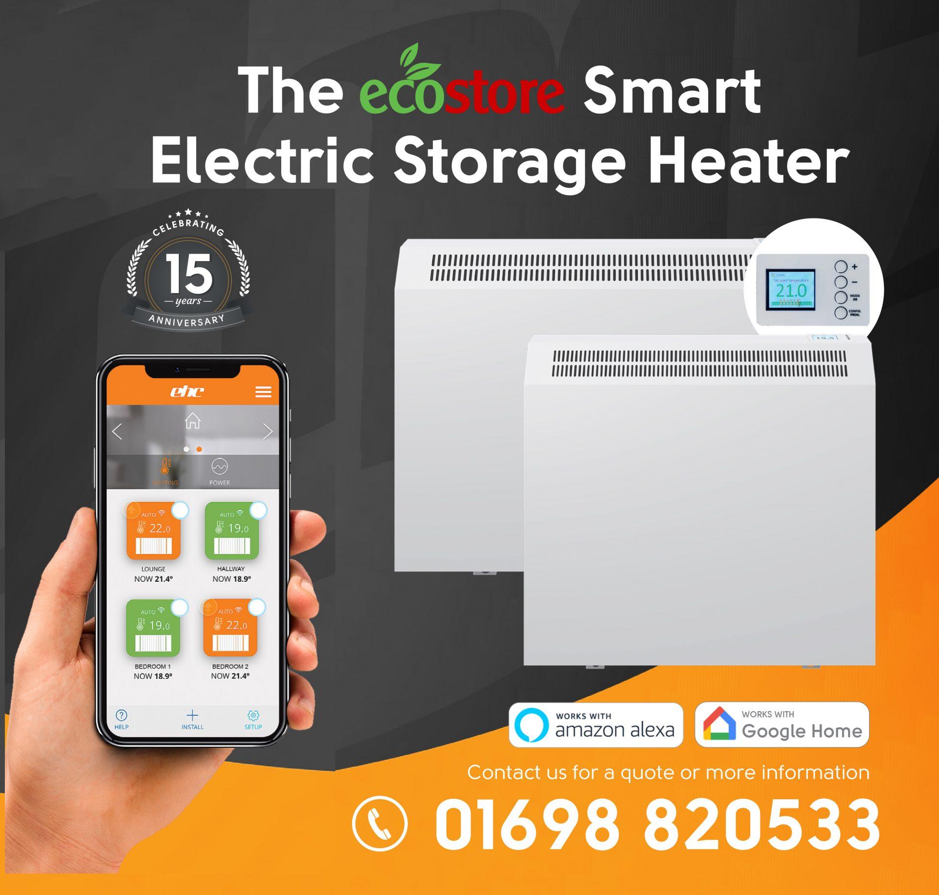 The Ecostore Smart Electric Storage Heater