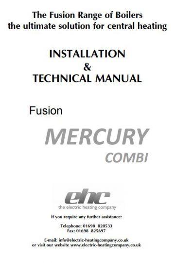 Mercury Installation Manual