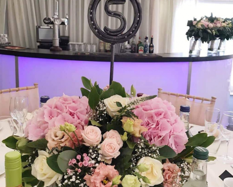Lucky Horseshoe Wedding Table Numbers